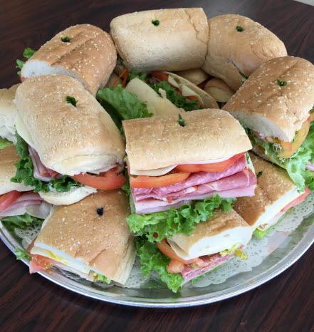Small Sandwich Tray